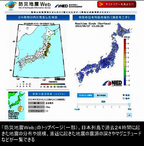 地震 高 感度