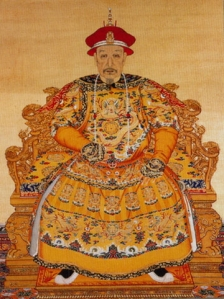 清朝6代皇帝・乾隆帝肖像画