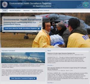 Environmental Health Surveillance Registries