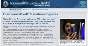 Environmental Health Surveillance Registries2