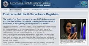 Environmental Health Surveillance Registries2