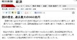 Nスペ 日本国債5(朝日記事)