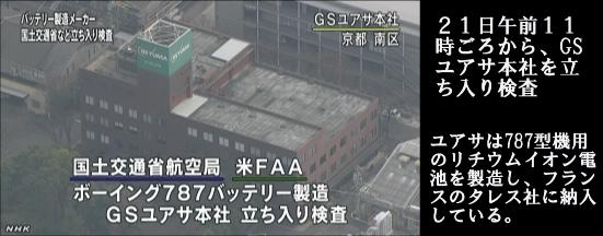B787_ユアサ立ち入り調査