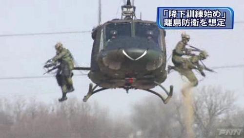 陸自第1空挺団降下訓練始め4-4