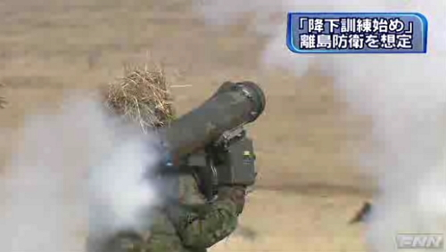 陸自第1空挺団降下訓練始め4-8