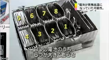 B787 バッテリー 熱暴走6