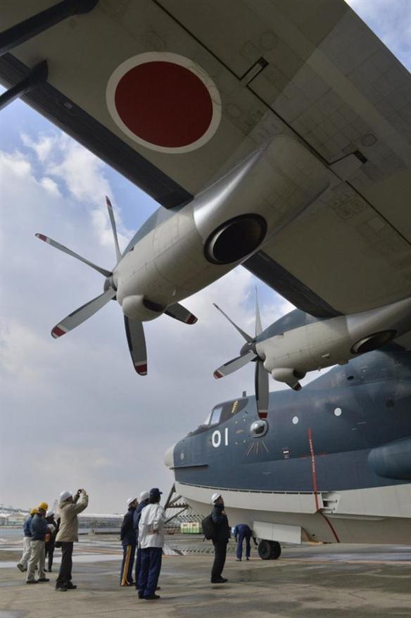 海自US-2、飛行試験画像3