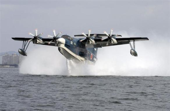 海自US-2、飛行試験画像5