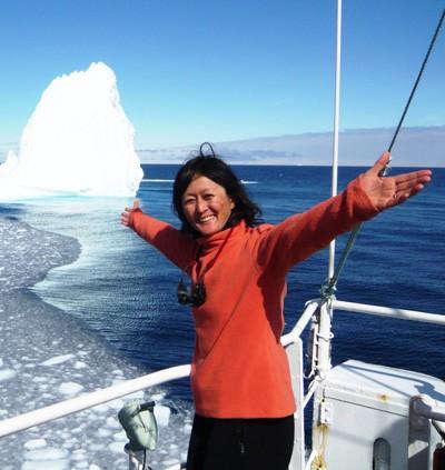 関口圭子博士(鯨類学者)の写真_オトナの生き方「南極へ、北極へ クジラの生態観察35年」