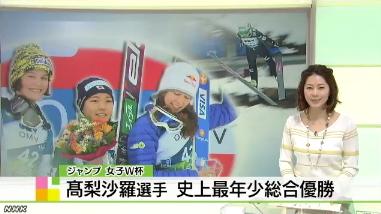 高梨沙羅、スキージャンプW杯2