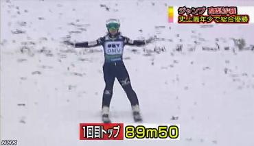 高梨沙羅、スキージャンプW杯8