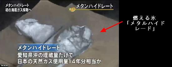 メタンハイドレート・世界初の海底ガス採取2