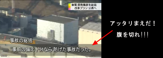 東電が原発事故総括2