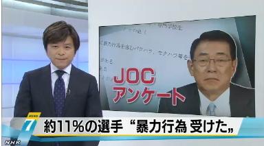 柔道女子・JOCアンケート1