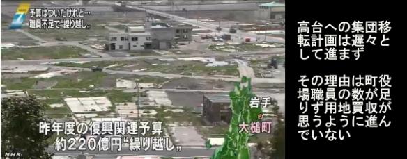 使われない復興予算1兆2600億円(NHK)08