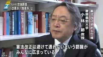 NHK世論調査・憲法改正14