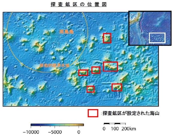 南鳥島沖のレアメタル探査へ7