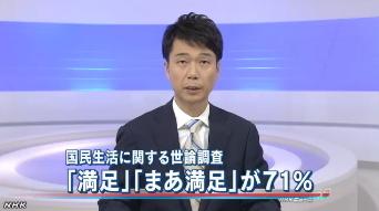 内閣府「国民生活に関する世論調査」1