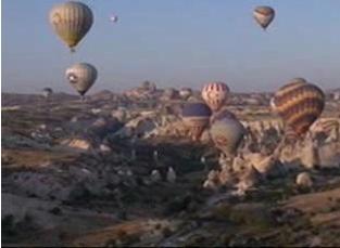 トルコ・カッパドキア奇岩群3