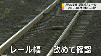 R北海道、道基準の幅超えレール3