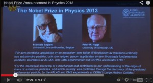 ノーベル物理学賞発表