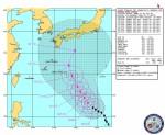 米国海軍・台風進路予想(NRL Tropical Cyclone Page) Warning#15 191500