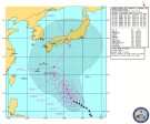 米国海軍・台風進路予想(NRL Tropical Cyclone Page) Warning#17 200300