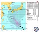 米国海軍・台風進路予想(NRL Tropical Cyclone Page) Warning#18 200900