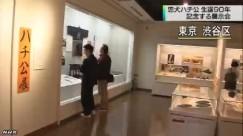 「ハチ公」展_NHKニュース_キャプチャ3
