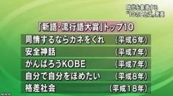 新語流行語 30年の「トップ10」(NHK)4