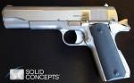 3Dプリンターで複製した拳銃(ソリッド・コンセプツ社)