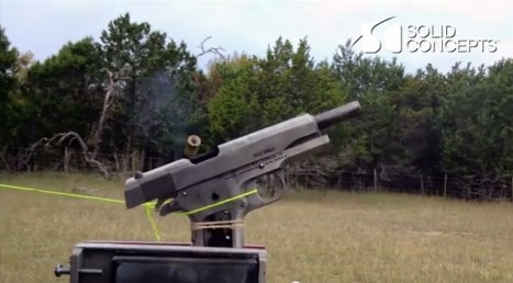 Soid Concepts 複製銃の試射1