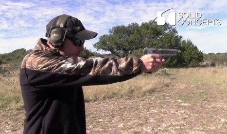 Soid Concepts 複製銃の試射2