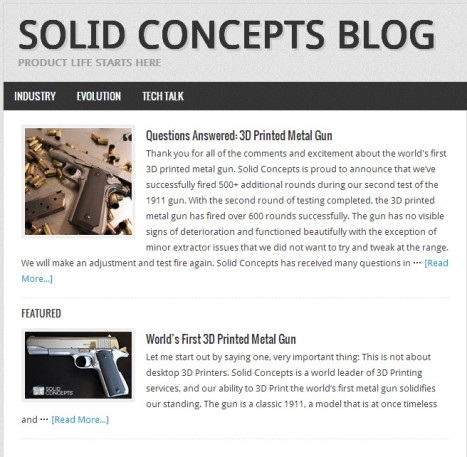 SOLID CONCEPTS BLOG