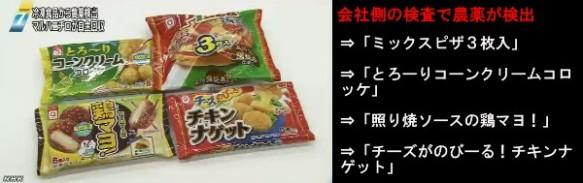 冷凍食品から農薬、マルハニチロが自主回収(NHK)_10