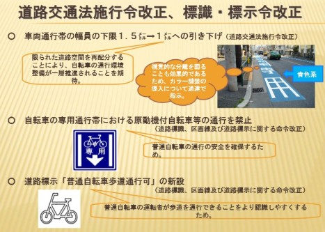 改正道交法12月1日施行⇒自転車の制限強化4