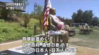 慰安婦の像撤去の署名10万超(NHK2014年1月4日)_7
