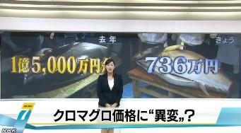 築地市場で新春恒例の初競り(NHKニュース2014年1月5日)画像_01