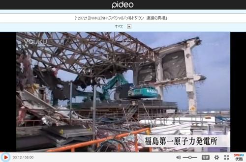 メルトダウン_連鎖の真相(NHKスペシャルPIDEO動画画像)