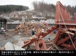 富士スバルライン雪崩後の復旧状況_大沢駐車場(2014年4月1日)_画像