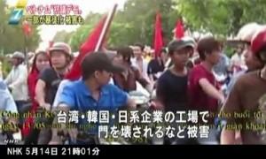 ベトナムで反中国デモが暴徒化_NHKニュース5月14日21時01分_2