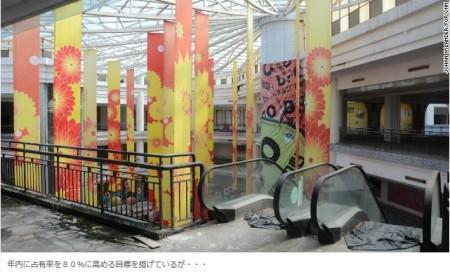 <世界最大の商店街」は今やゴーストタウン、不動産バブルのツケ 中国>画像3