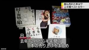 ことし上半期のベストセラー_2014年_NHKニュース6月1日_画像2