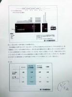若山照彦・山梨大学教授が16日の記者会見で配布した会見資料「第三者機関の解析結果について」Page5の5