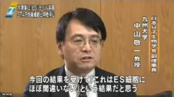 STAP問題 冷凍庫に「ES」容器_NHKニュース6月16日_画像08