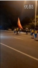 中国・1万人のオバハン「暴走集団」Youtube動画スクリーンショット1