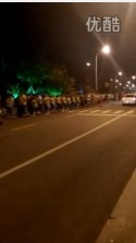 中国・1万人のオバハン「暴走集団」Youtube動画スクリーンショット4