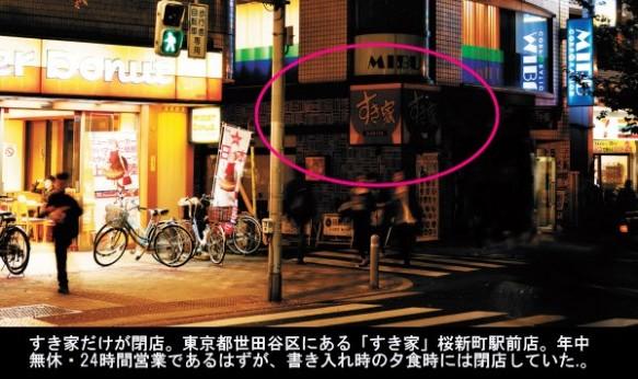 消える明かり「すき家」、バイト反乱で営業不能 (日経記事)画像1