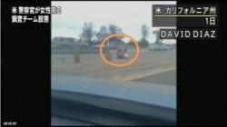 米 警察官が女性殴る映像に波紋_NHKニュース2014年7月5日_画像02
