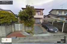 藤原容疑者の自宅_Googleストリート・ビュー_画像2(正面)